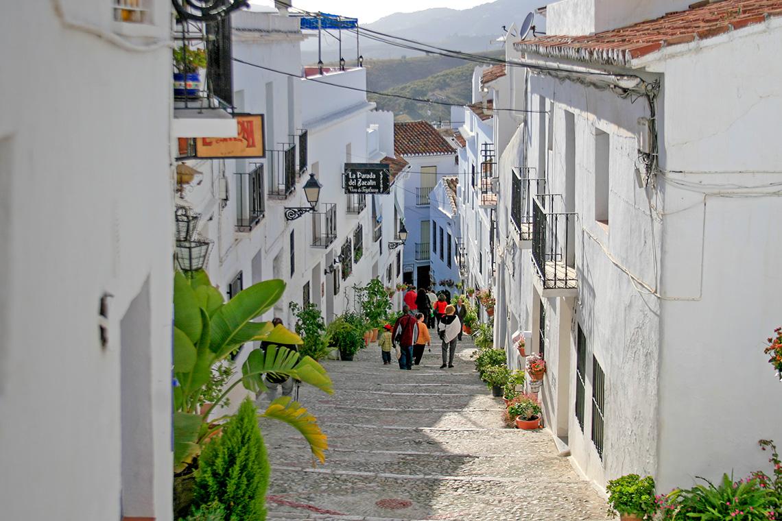 Calles de Frigiliana - Andalucía Simple - Axarquía Costa del Sol