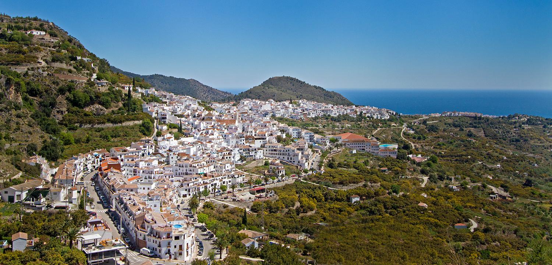 Andalucía Simple - Vistas de Frigiliana