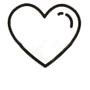 Andalucía Simple - Icono corazón