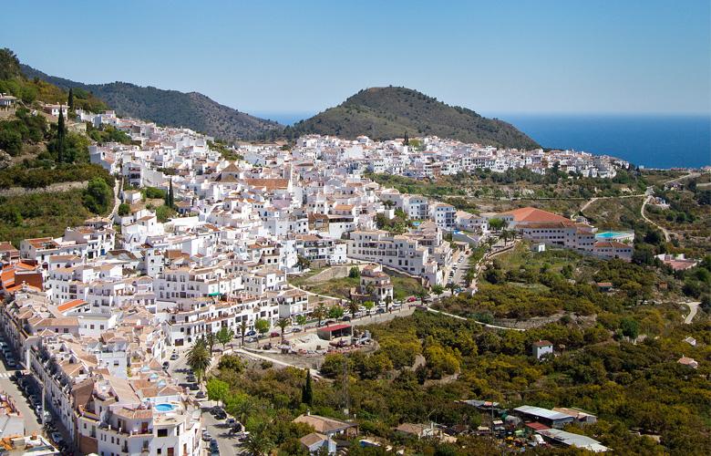 Andalucía Simple - Vista aérea de la Axarquía