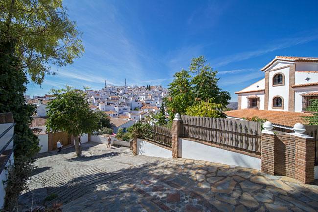 Calles de Comares - Andalucía Simple - La Axarquía Costa del Sol