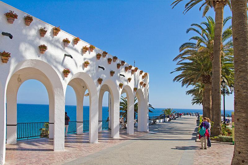 Detalles Balcón de Europa - Andalucía Simple - Axarquía Costa del Sol