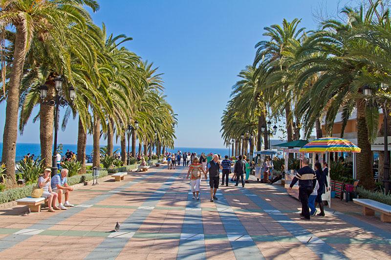 Paseo Balcón de Europa - Andalucía Simple - Axarquía Costa del Sol