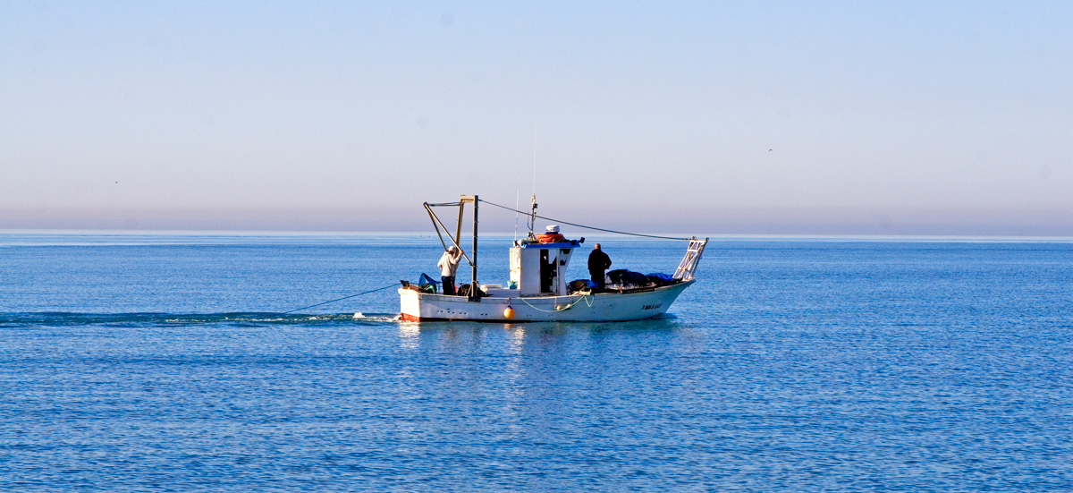 Barco faenando - Andalucía Simple - Axarquía Costa del Sol