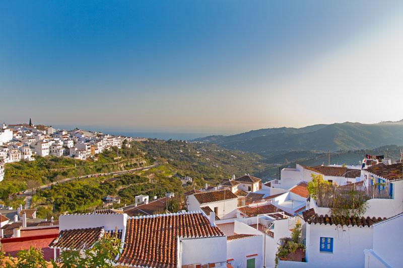 Vistas desde Frigiliana - Andalucía Simple - Axarquía Costa del Sol