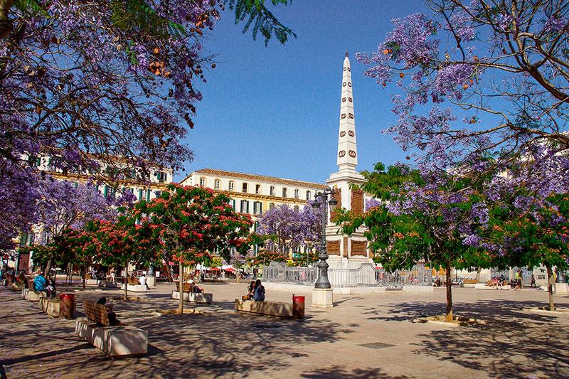 Plaza de la Merced - Andalucía Simple - Costa del Sol