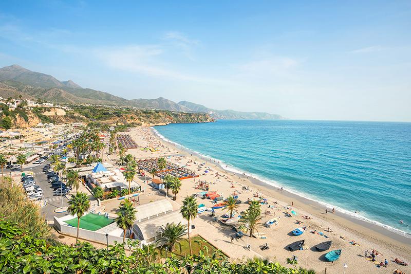 Nerja playa - Andalucía Simple