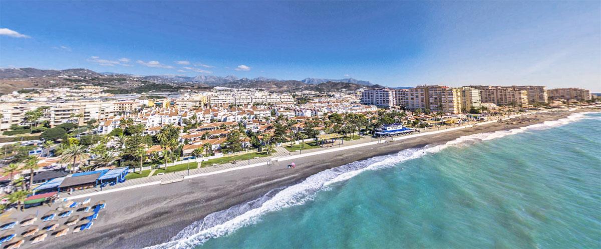 playas de Málaga - Andalucía Simple - La Axarquía Costa del Sol