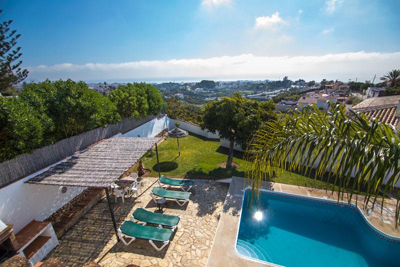 Chalet con piscina en Frigiliana