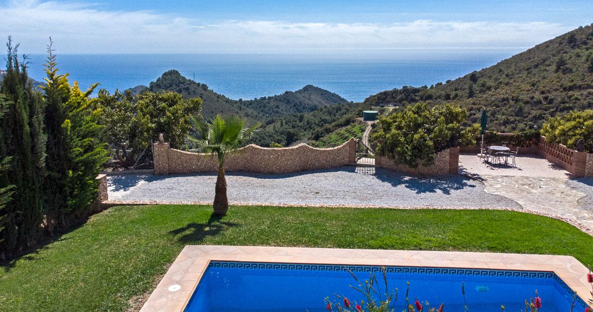 Espectacular villa en Maro