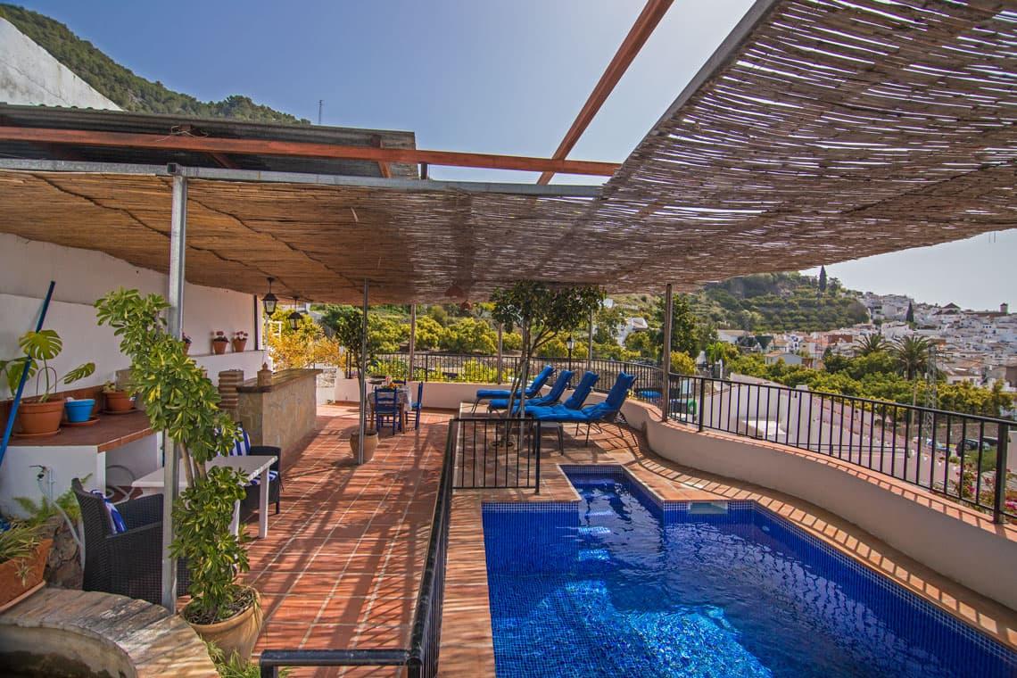 Casa de pueblo con piscina en Frigiliana, Village house with pool in Frigiliana, Dorfhaus mit Schwimmbad in Frigiliana, Maison de village avec piscine à Frigiliana