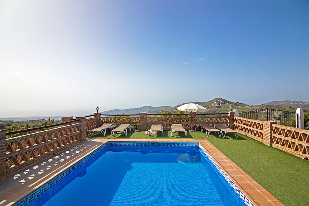Casa rural con piscina Frigiliana, Country house with pool Frigiliana, Maison de campagne avec piscine Frigiliana, Landhaus mit Pool Frigiliana
